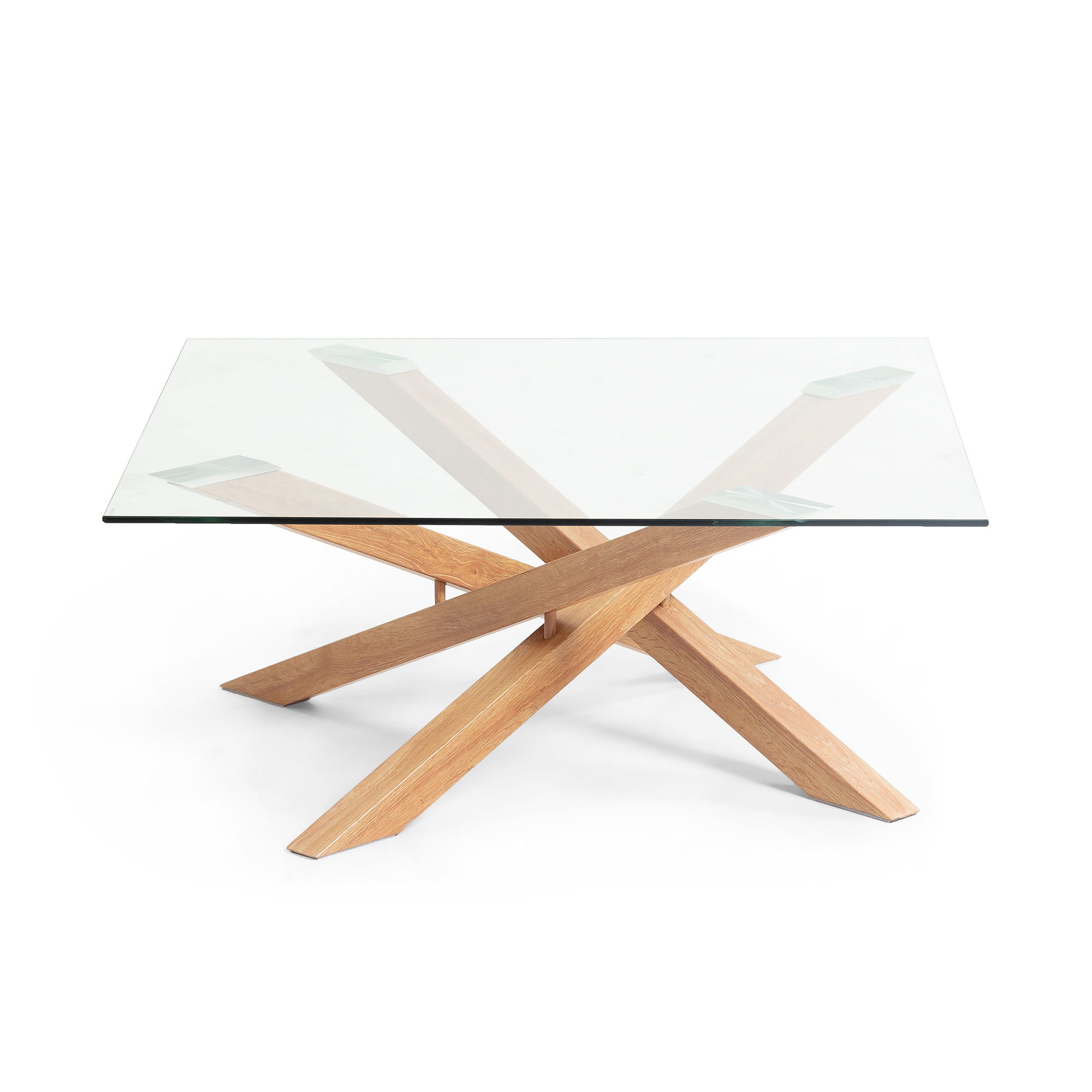 table basse en verre 90x90cm